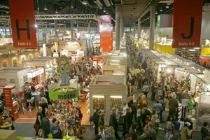 Frankfurt bookfair visitors to the event